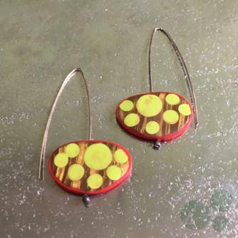 Atomic Drop Earrings