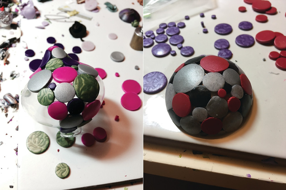 Prototype Molecular Ornament in Progress