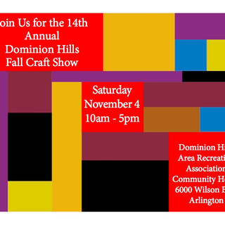 Dominion Hills Fall Craft Show