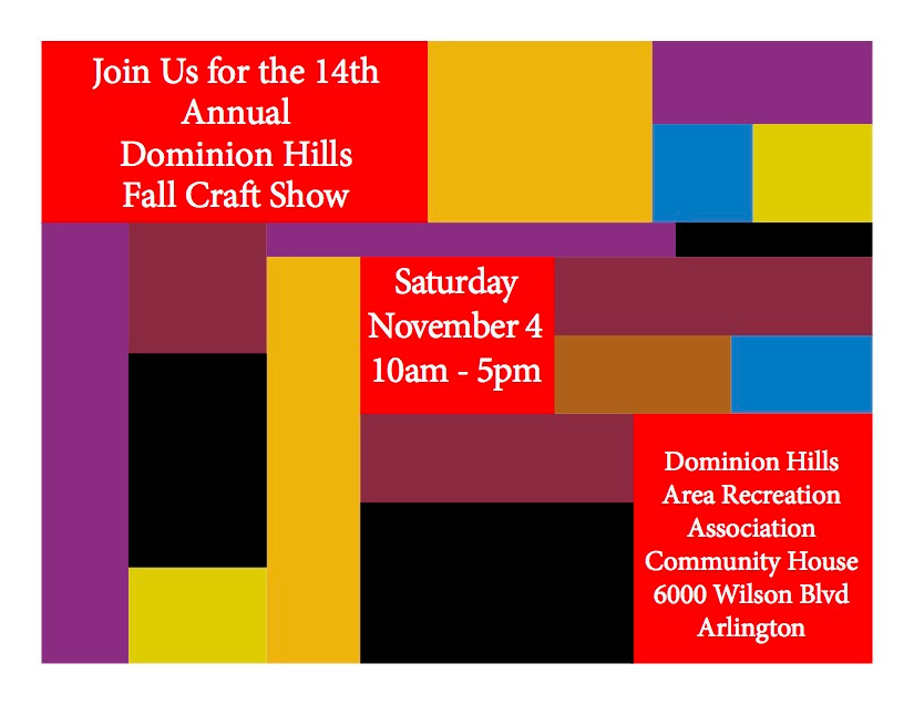 Dominion Hills Fall Craft Show November 4, 2017