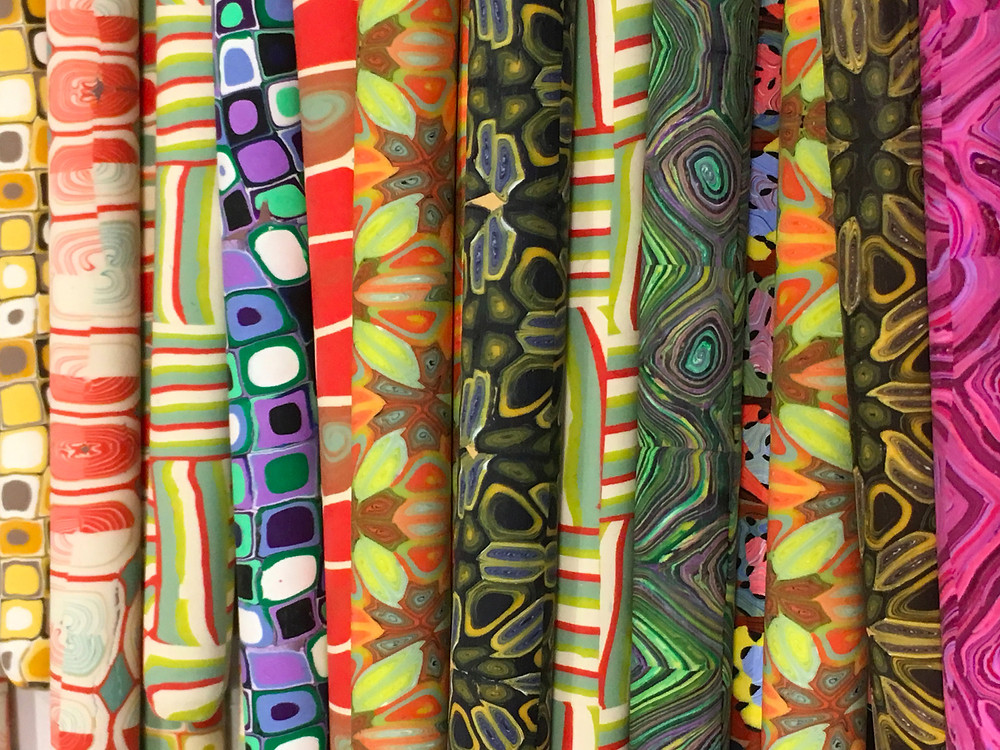 Polymer Clay Pens by Lisa Clarke