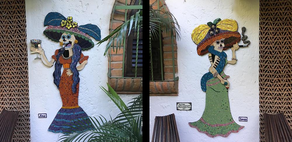 Ana & Sonia at Hacienda Mosaico