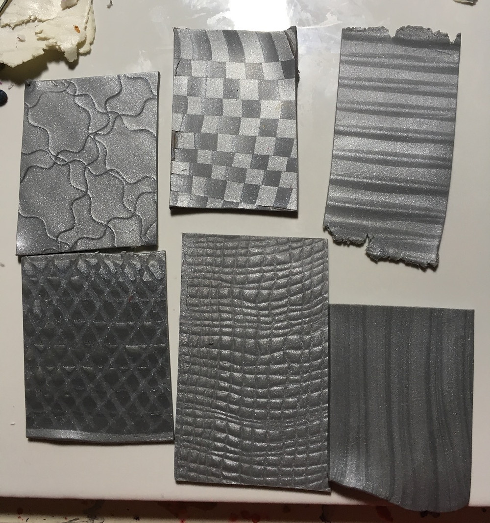Silver Mica Patterned Optical 3D Sheets