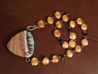 Gas Giant Maelstrom™ Wedge Necklace