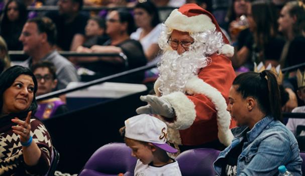 Santa performer