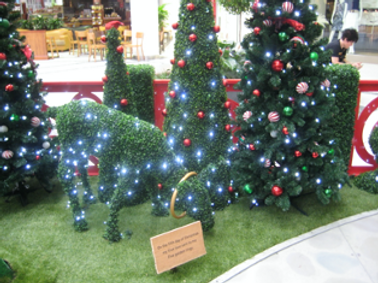 Christmas set design
