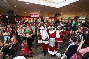 Christmas performers