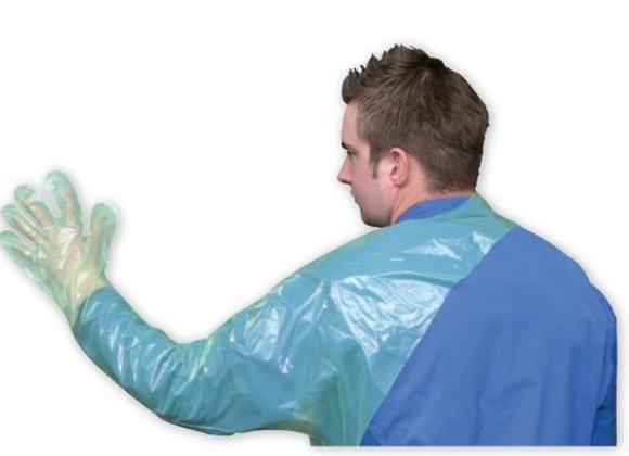 Одноразовые перчатки для ветеринаров VETtop с защитой плеча