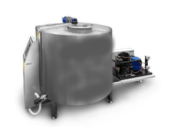 Установка охлаждения молока УОМ 500-В