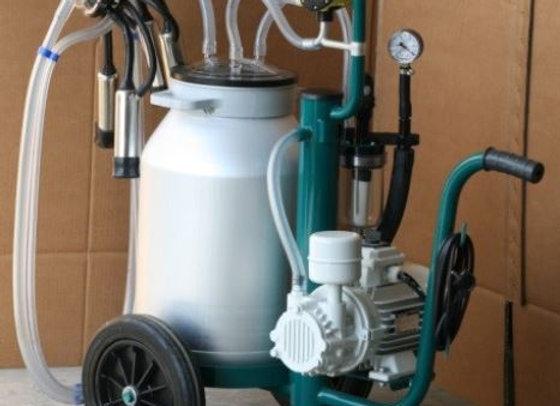 Передвижная доильная установка для коров с одним доильным аппаратом