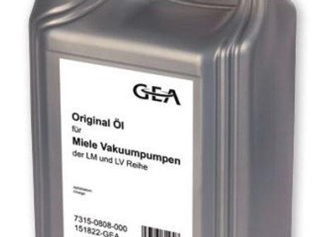 Оригинальное GEA-масло для вакуумных насосов Miele