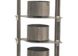 Пресс пневматический вертикальный для форм  D350мм
