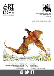 Art Share Love - December 2018 - Cover -