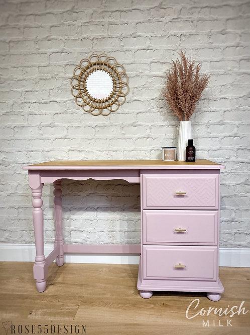 Solid pine dressing table/desk