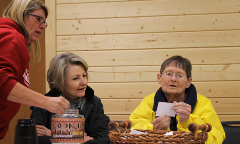 Bev Chatlain, Milicent Gillogly and Betty Sommers