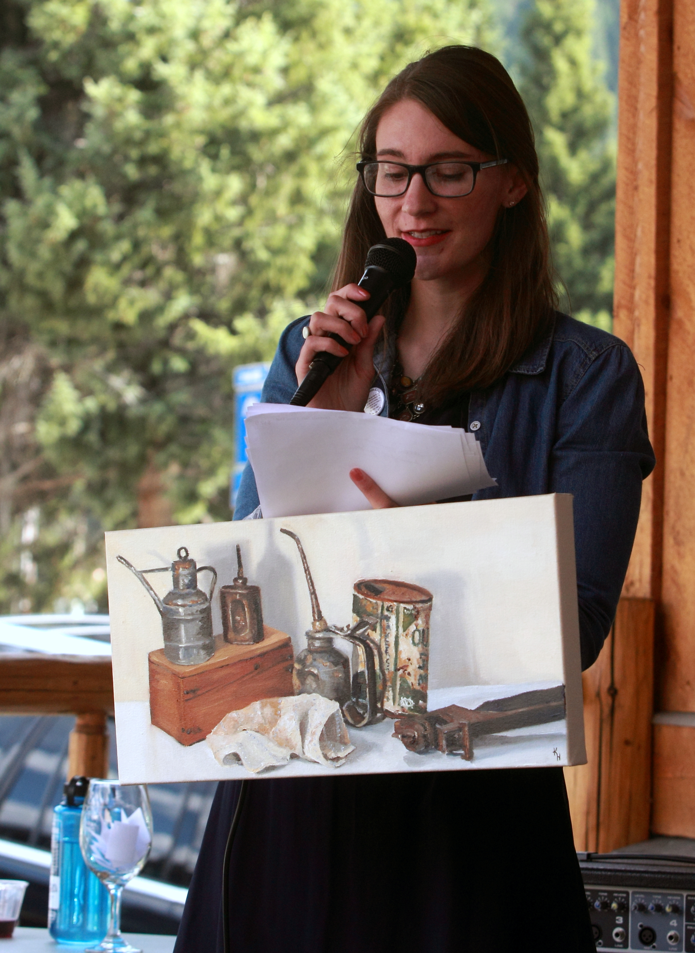 Kelly Hartman, Museum Director
