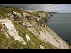 Cliffs at Santon