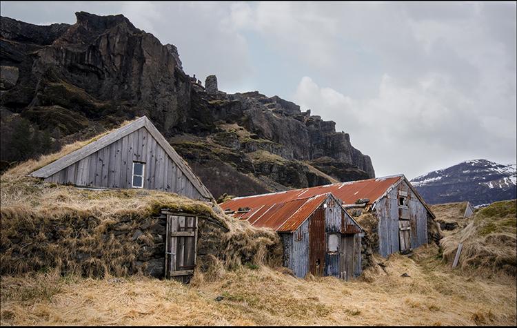 Old Farm Buildings By Doreen Kelly