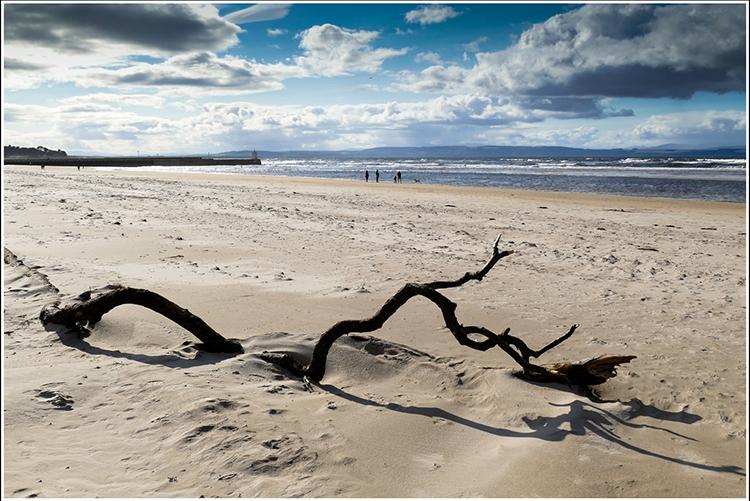 Nairn Beach By Gordon Corrin