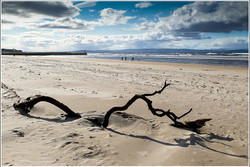Nairn Beach By Gordon Corrin