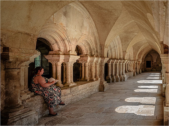 34 Artist in the Cloister.jpg
