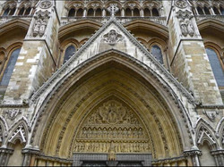 Tympanum N Ent Westminister Abbey