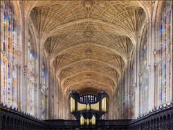 Fan roof.King's Chapel By John Hall