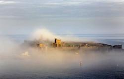 Mist at daybreak