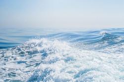 Blue Sea By Dennis Wood