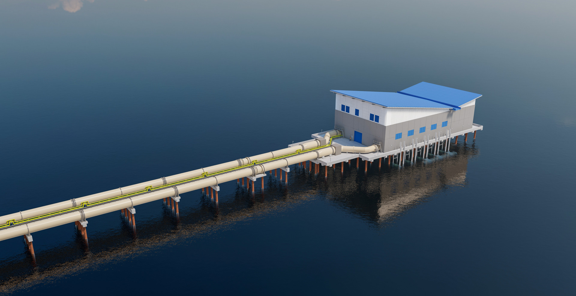 NEWPP - Water Intake Building