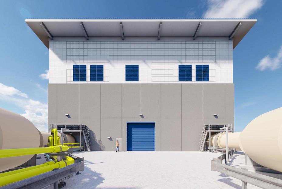NEWPP - Water Intake Building