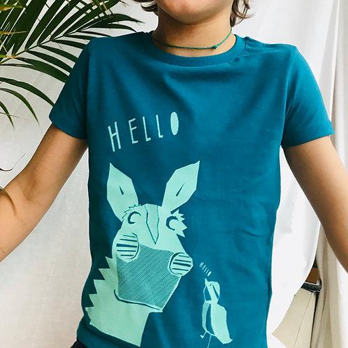 Age 3-4 Organic TwT t-shirt