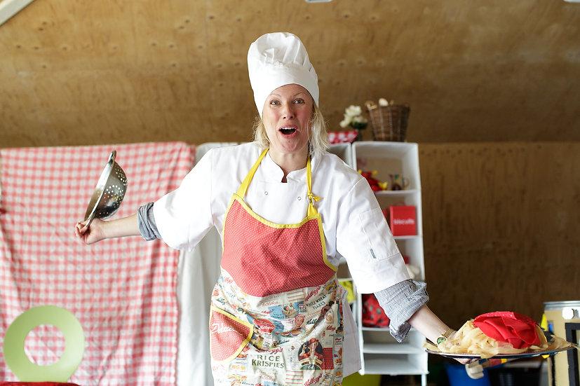 Gift: Chef Gherkin and his Magic Mixing Machine