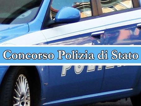 Concorso per 1515 allievi di Polizia