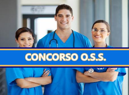 Concorso per un posto di Collaboratore socio sanitario (O.S.S.)