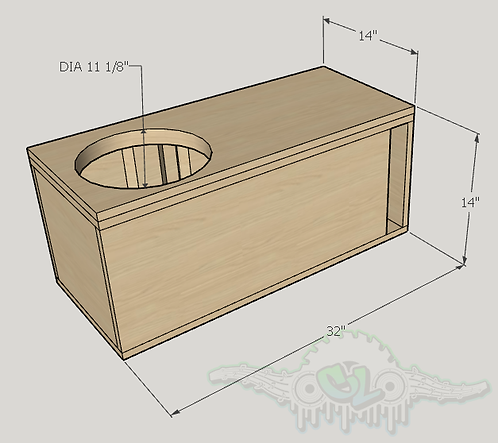 "Sundown Audio E Series 12"" Design Sub up Port Forward"