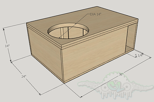 "Skar Audio DDX 15"" Design Sub up Port Forward"