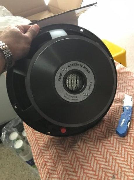 "12"" Loud Speaker CPA12BC PRO"