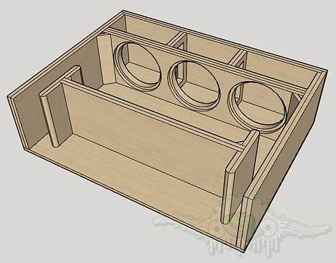 Custom 6th Order Bandpass Design
