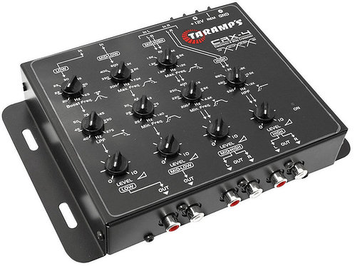 CRX-4 4way Quality Car Audio Crossover
