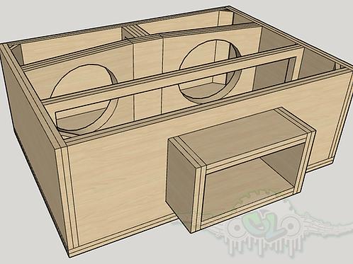 Custom 4th Order Bandpass Design