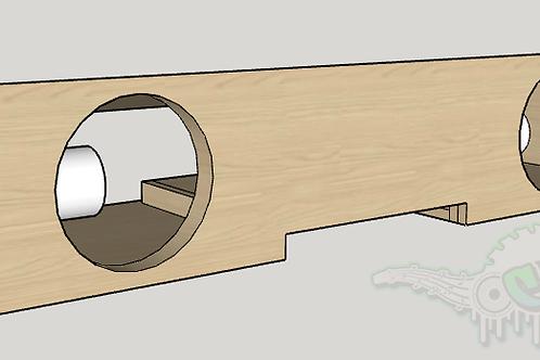 "2014-19 Chevy Crew Cab Underseat Design (2)10"""