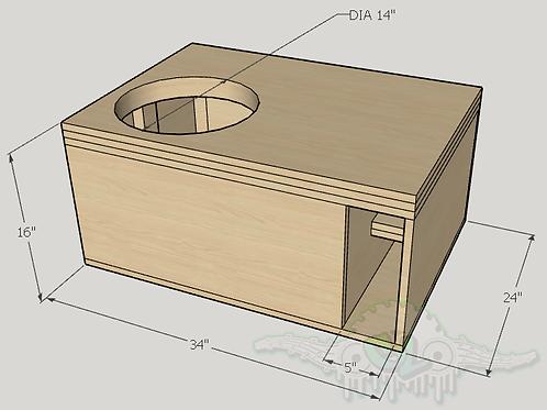 "Avatar STU1546 15"" Sub and Port Forward Design"