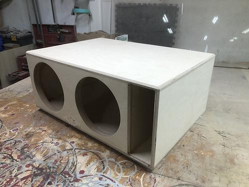 2 Sundown Audio Sa 12s Subwoofer Box Sub and Port Forward