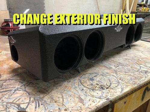 Change Exterior Finish 20-21 Chevy/GMC Crew