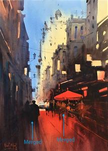 Persian Street by Alvaro Castagnet
