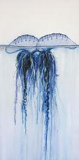 double-trouble-bluebottle painting Naomi