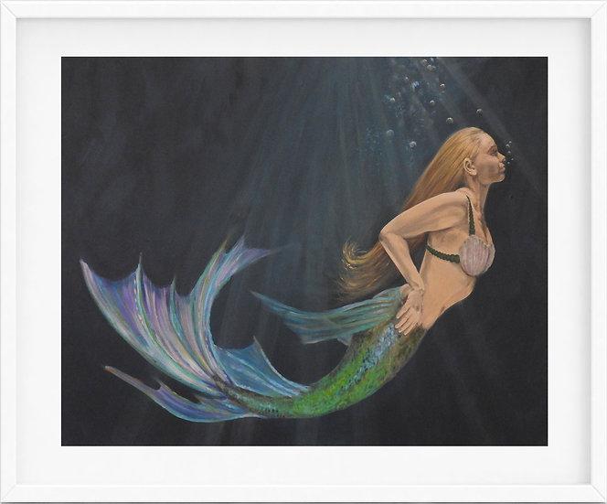 Mermaid - limited edition print 2/100