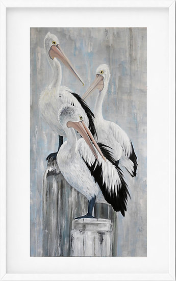 Australian Pelicans - limited edition print 5/100