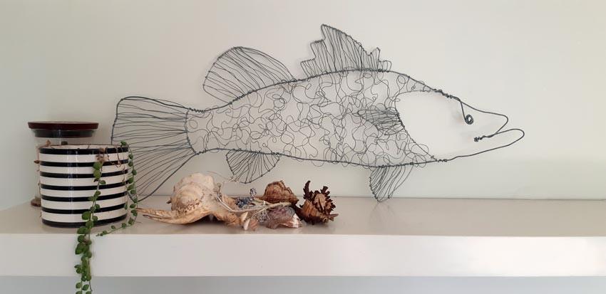 barramundi fish wire sculpture styled.jp